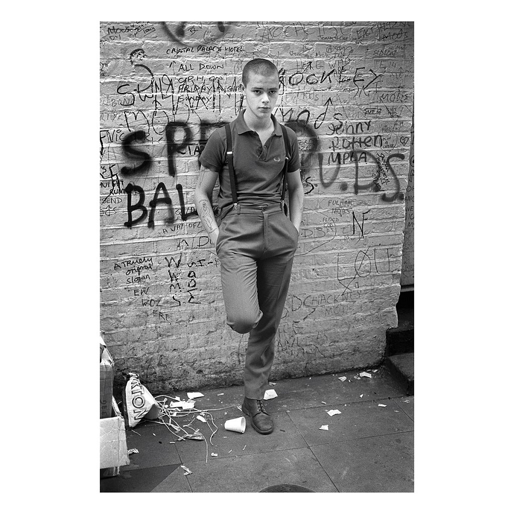 Tuinol Barry, near Carnaby Street 1980